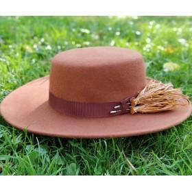 felt boater hat