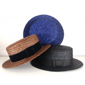 Boater hat color
